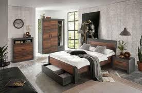 home affaire schlafzimmer set set einzelbett mit holzkopfteil nachtkommode kleiderschrank 3 trg kommode in dekorativer rahmenoptik