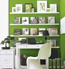 Home Office Decor Ideas For Spring Bright Colored Walls Digsdigs