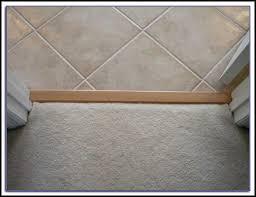 carpet to tile transition on concrete page best