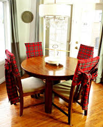 DIY Christmas Tartan Chair Covers | Inspired Bloggers ... Adorable Ding Room Chair Cushions Set Of 6 Piece Patterns How To Make Removable Covers Arm Slipcovers For Less Than 30 Howtos Captains Etsy Chairs Back White Bla Grey Tufted Target Co Wood Pad Without Pads Ties Round Roll Room Ideas Tailored Denim Seat The Slipcover Maker Dingroomchaircoversblue Beautifying Your Every Taste Latest Home Details About Uk Knit Stretch High Tapered Rooms Dark