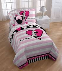 Love Pink Bedding by Interior Minnie Mouse Twin Bedding U2014 Modern Storage Twin Bed