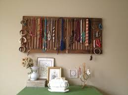 Simple DIY Wooden Shutter Jewelry Display