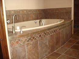 Tiling A Bathtub Surround by Tile Around Bathtub Ideas Browse Our Photo Gallery For Ideas
