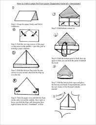 This Template Here Comes With Elaborate And Step By Instructions On How To Fold A Paper Make Hat Your Own