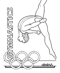 Gymnastics Coloring Pages To Print Free Full Size Of Graceful 4 Printable
