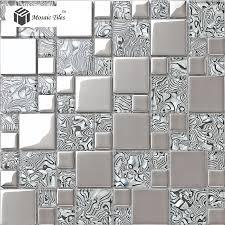 Tiles For Backsplash In Bathroom by Crystal Glass Tile Zebra Design Innovation Bathroom Wall Fireplace