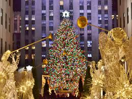 Christmas Tree Rockefeller Center Lighting by Take A Ride On The Crane That Hoists The Star Atop Rockefeller