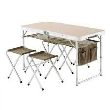 table pliante avec 4 chaises intégrées chaise idées de