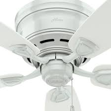 Hunter Outdoor Ceiling Fans Amazon by Hunter 53119 Sea Wind 48 Inch Etl Damp Listed White Ceiling Fan