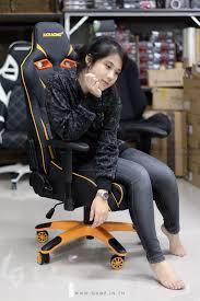 Akracing Gaming Chair Blackorange by ร ว ว Review Akracing Gt 111 Supersports Gaming Chair Black Orange