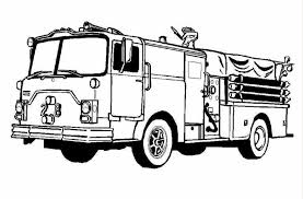 Free Coloring Page Fire Truck Images To Print