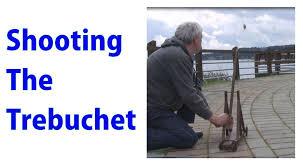 Pumpkin Chunkin Trebuchet World Record by Shooting A Model Trebuchet A Woodworkweb Video Youtube