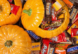 Snickers Halloween Commercial Pumpkin by Dallas Tx October 31 2014 Decorative Pumpkins Filled With