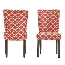 Amazon.com - ModHaus Modern Red Fabric Moroccan Quatrefoil Pattern ... Set Of 6 Ding Chairs With Red Fabric Teak Archive Modest Fniture Chair Contemporary Wingback Zebra Ding Bent Plywood Shop Christopher Knight Home Pertica Red Fabric Upholstered Room Wooden Kitchen Chairs Grey Table For Linen High Scroll Back Rrp 24999 Save 4 Oak Framed Danish Homestore Verbois Jane Solid Walnut Six In Bmhaus Berry Cor03i Heath 2 Gdf Studio Floral Sets 8 Modern Whosale Beech Wood Upholstery