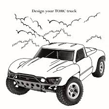 Monster Trucks Coloring Pages Unique Rc Car Of Remote Control ...