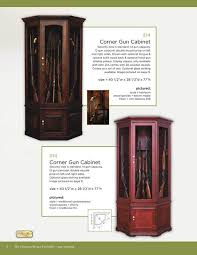 Wooden Gun Cabinet With Etched Glass by Curio U0026 Gun Cabinets Scarborough Fair A Unique Store On The Shore