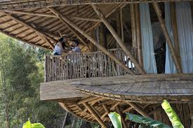 100 Ibuku Stunning Multilevel Bamboo Home Stands Deep In The