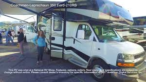 Coachmen Class C Motorhome Floor Plans by Coachmen Leprechaun 350 Ford 210rs Youtube