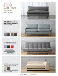 Cb2 Sofa Bed Sleeper by Sleeper Sofa Illuminated Flex Gravel Sleeper Sofa Double