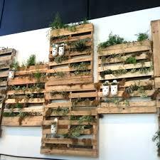 Crate Garden Packing Crates As Vertical Gardens Wooden Ideas