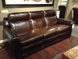 Ethan Allen Leather Sofa Peeling by Ethan Allen Conor Recliner Sofa Leather Sofas Repair Reviews