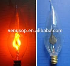 classical c32 flicker fame candle light bulbs 3w high quality e14