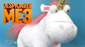 Despicable Me 3 Light Up Fluffy Unicorn From Thinkway Toys