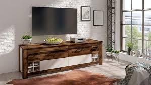 lowboard tv lowboard wohnzimmer wohnwand weiß vintage geplankt matt neu 52496428 ceres webshop