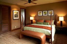 Surprising Earth Tone Colors Decorating Ideas For Bedroom Tropical Design With Area Rug Bedside