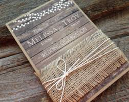 Wedding Invitation Rustic Invitations Cheap With The Simple 3