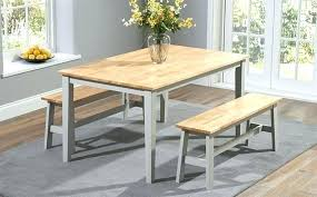 Kitchen Table Benches With Backs Dining Room Bench Set Back Diy