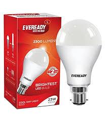 eveready base b22 23 watt led bulb cool day light in