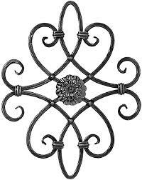 deco fer forge ferronnerie blacksmithing rosette rosaces déco fer frogé ferronnerie portails