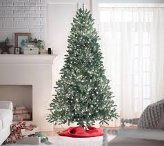 Artificial Silvertip Christmas Tree by Santa U0027s Best 9 U0027 Starry Light Microlight Christmas Tree W Flip Leds