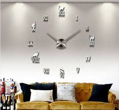 Buy Home Decorationsbig Digital Wall Clock Modern Designlarge Decorative Designer Clocks Watch Hoursunique Gift C050 In Cheap Price On Alibaba