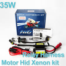 free shipping wholesale motor motorcycle bike hid lights kit bi
