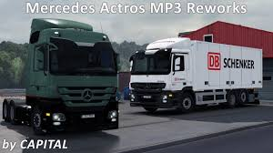 ETS2 1.31 - Mod Review - Mercedes Actros MP3 Reworks V2.0 By ...