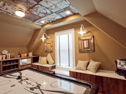 Bedroom Ceiling Ideas Diy by How To Install A Stamped Tin Ceiling How Tos Diy