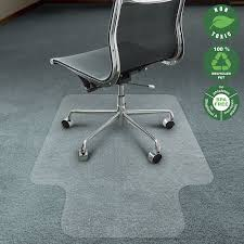 Desk Chair Mat For Carpet amazon com office marshal chair mat for carpet with lip eco