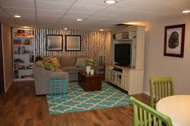groovy results are in along with kid friendly basement family room