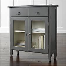 Stretto Grey Entryway Cabinet