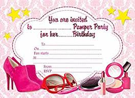 Pamper Party Invitations With An Elegant Invitation Template To Complete Delightful Your 1
