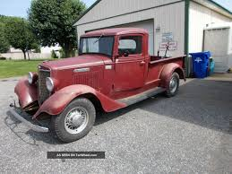 1936 International 1 / 2 Ton Pickup