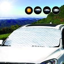 LEMESO Car Sunshades For Windshield, 55