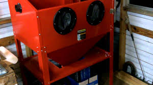 Central Pneumatic Blast Cabinet by Harbor Freight Tools Harbor Freight Sand Blast Cabinet Aug 22