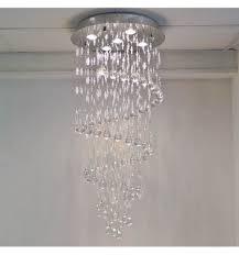 lustre cristal design krakow transparent achat de lustre pas cher