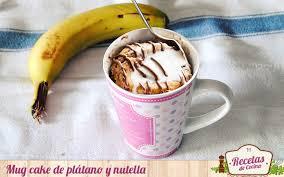 bananen nutella becherkuchen