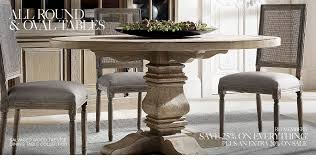 All Round Oval Tables