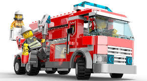 Fire Truck - Characters & Art - Lego City Undercover