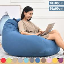 Large Bean Bag Chairs Couch Sofa Cover Indoor Lazy Lounger For ... Soft Bean Bag Chairs Couch Sofa Cover Modern Indoor Lazy Lounger For Large Extra Diy Chair Canada Pattern 32sixthavecom Big Joe Pillow Giant Home Improvement Cast Wilson Saxx Microsuede Jaxx Bags Bean Bag Chair Perfect Cabinet And Ktyxgkl Portable Fashion Bber Rug In 2019 Uohome Small Room Milano Multiple Colors 32 X 28 25